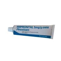 IMPRONTAL 5 mg/g CREMA, 1 tubo de 60 g