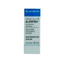 ALERFRIN 0,25mg/ml COLIRIO EN SOLUCION, 1 frasco de 10 ml